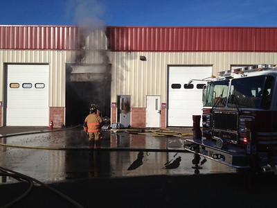 Building Fire - Unknown Address, Windsor Locks, CT - 12/15/14