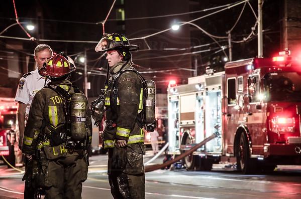July 26, 2014 - Working Fire - 233 Dundas St. E.