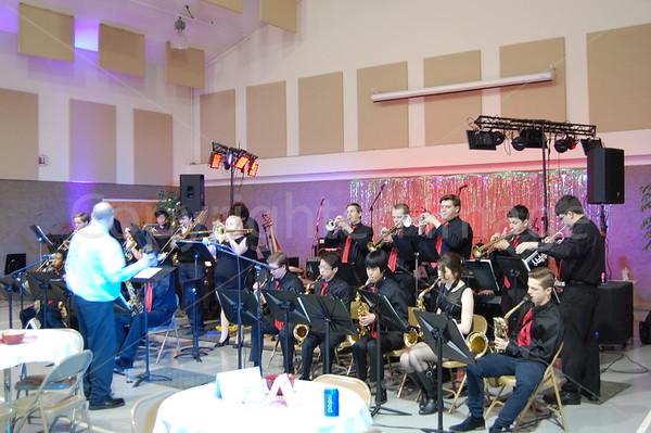 Jazz Band at Coffeehouse