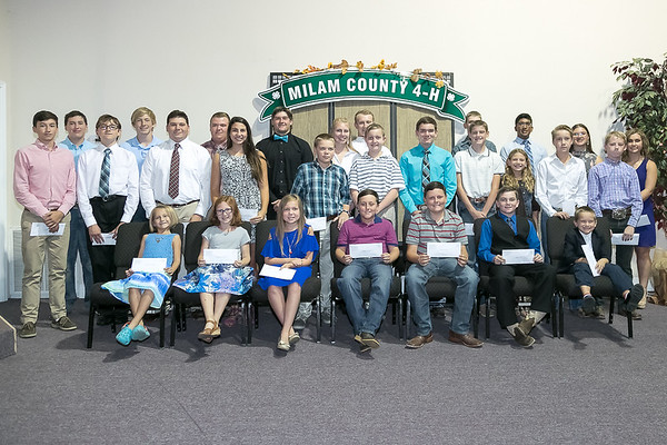 Milam County 4H Banquet 2017