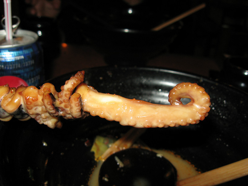 Octopus - the other white meat