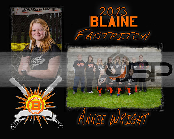 2013 Blaine MS 7th Grade Fastpitch