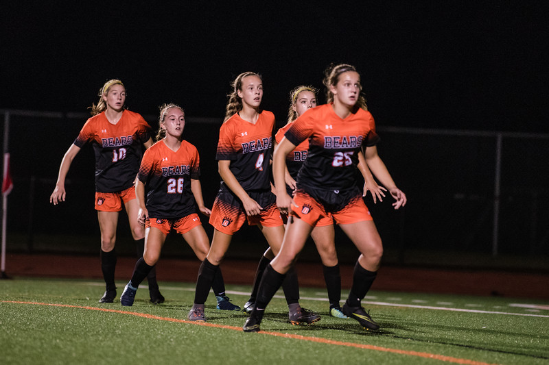 WBL GIRLS SOCCER  -V- EAST RIDGE 2018