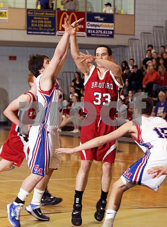 2011 District IX Class AAA Boys Basketball Championship Bradford vs. St. Marys