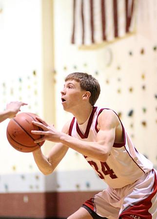 SNHS Boys Basketball vs Caston 2013