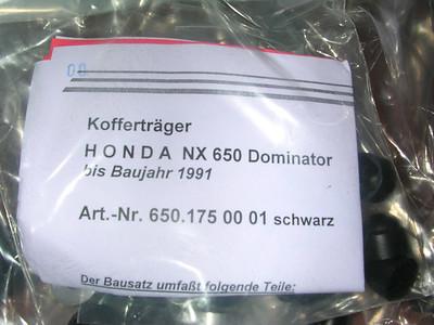 Hepco & Becker Pannier Rails