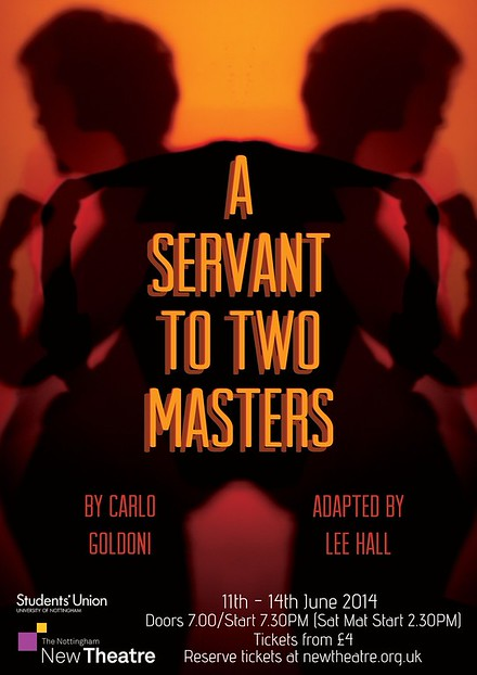 A Servant To Two Masters poster