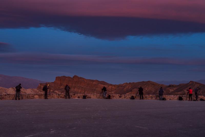 Zabriskie Point, Death Valley National Park, CA
