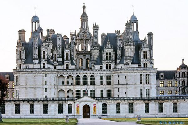 Château de Chambord - Exterieurs Face Sud