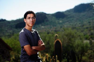 Davie's Senior Portrait shoot