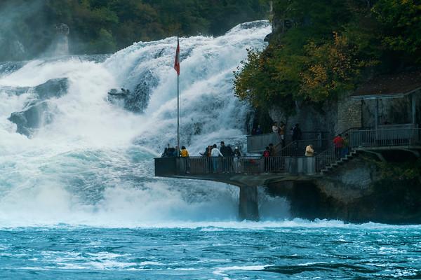 2018-10 Rhine Falls, Switzerland