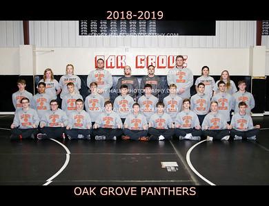 2018-2019 OGHS Wrestling