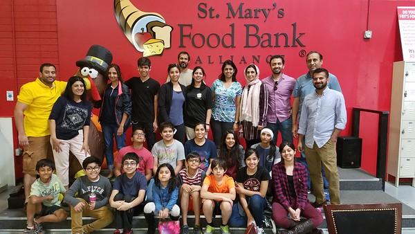 PICO - November 2016 Volunteering - St Mary's Food Bank