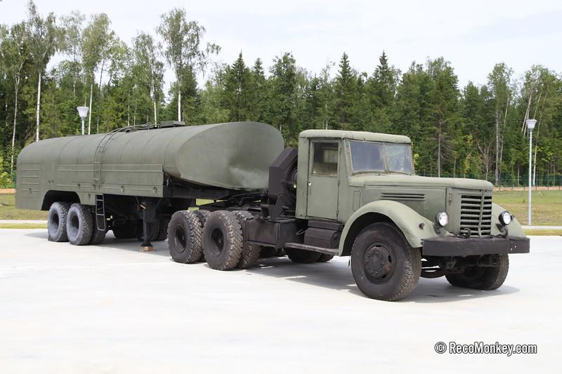 TZ-22 with YaAZ-210D truck