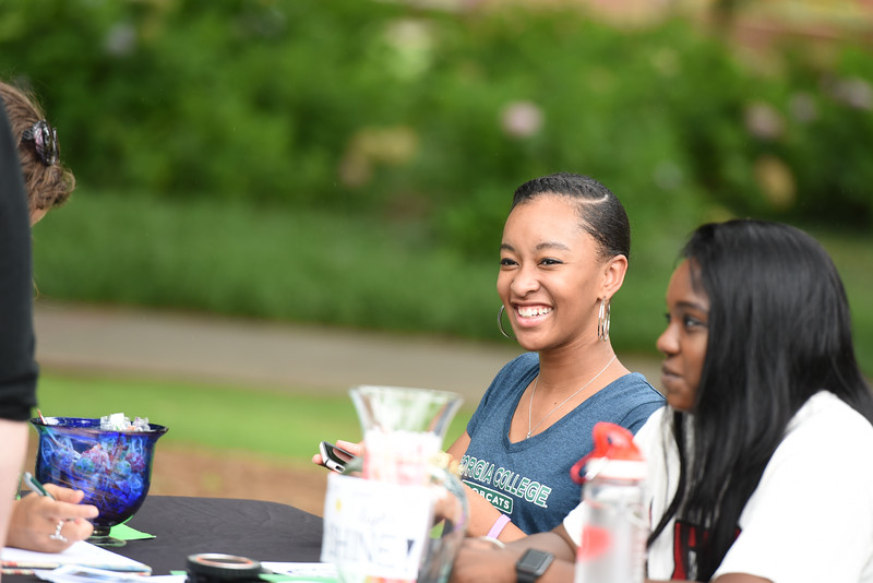 Student organizations participate in the Bobcat Marketplace at our summer orientation sessions.