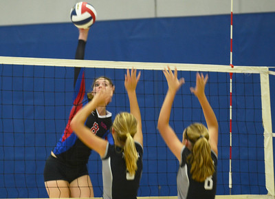 Volleyball tournament held at Wheaton North