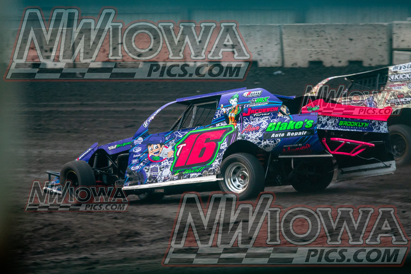 KOSSUTH COUNTY SPEEDWAY - Salute to The Veterans - 7 - 29 - 2021