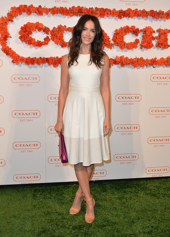. Actress Abigail Spencer attends the 3rd Annual Coach Evening to benefit Children\'s Defense Fund at Bad Robot on April 10, 2013 in Santa Monica, California.  (Photo by Alberto E. Rodriguez/Getty Images)