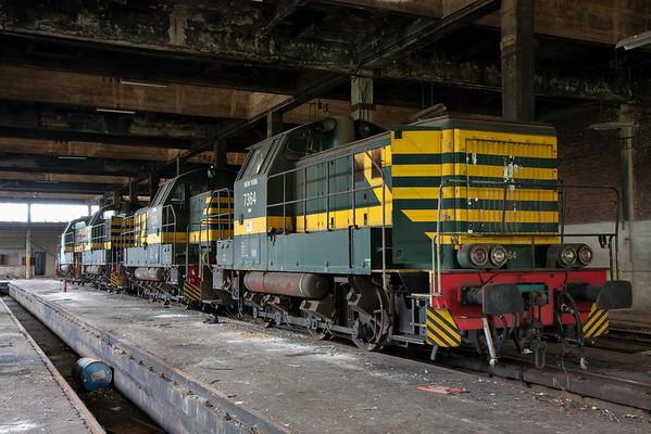 Train Graveyard Remise Monceau (BE)