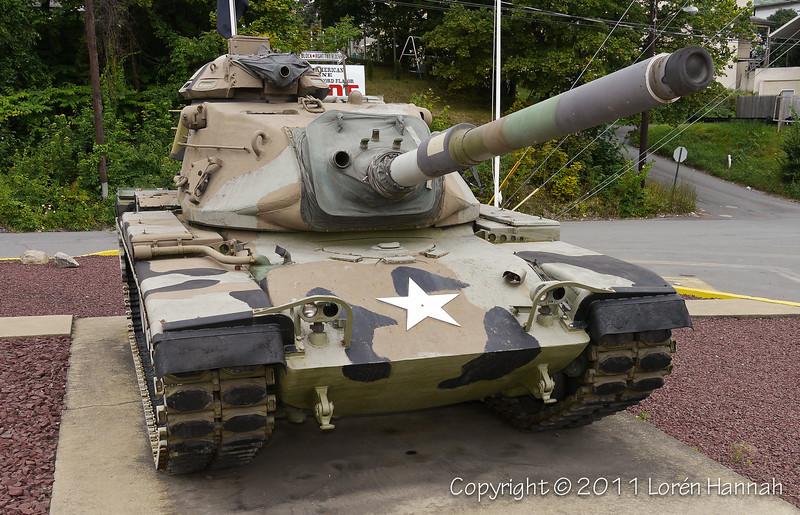 Tank Memorial - Dunmore, PA - M60A3