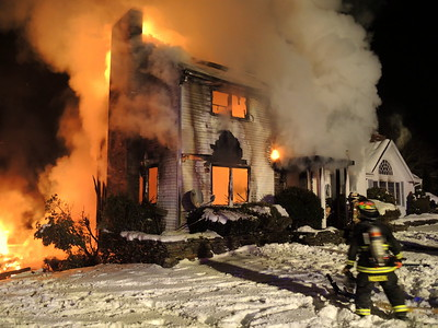 Structure Fire - Unknown Address, Franklin, CT - Unknown Date