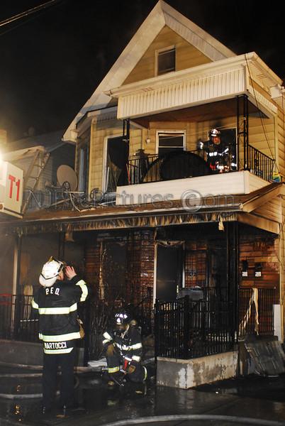 Passaic, NJ 3rd Alarm 162 Howe Ave. February 2, 2008