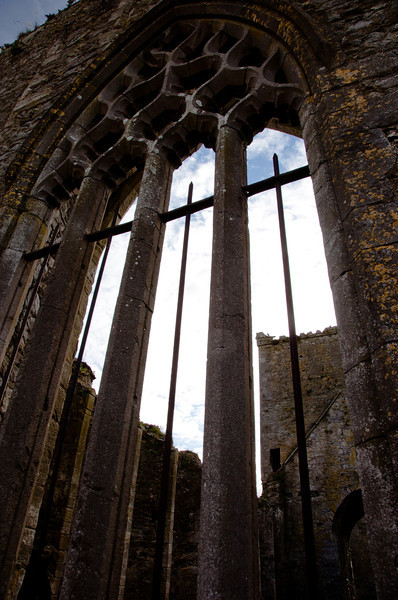 Burned out cathedral, Cashel