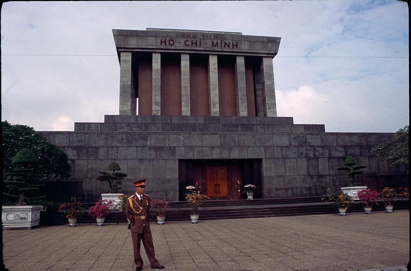 Ho Chi Minh tomb in Hanoi