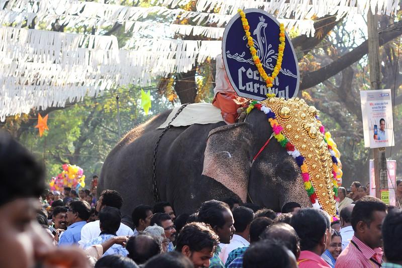 New Year's Day parade - Kochin, Kerala