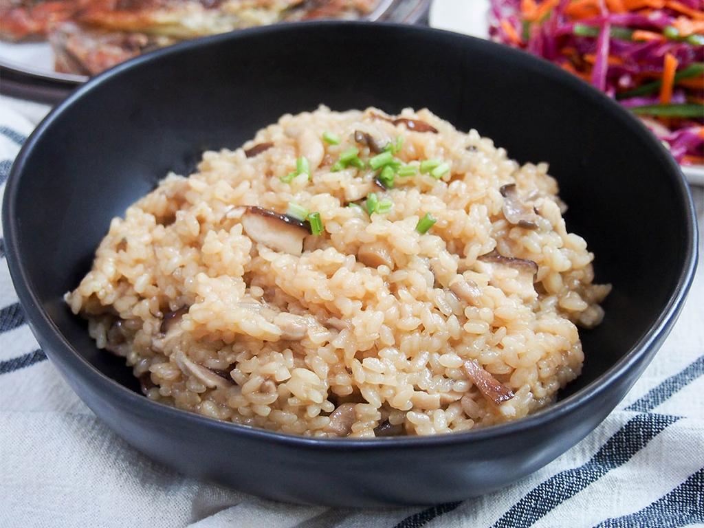 Japanese Mushroom Rice