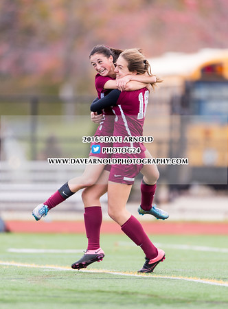 11/11/2016 - Girls Varsity Soccer - MIAA D2 North Semifinal - Marblehead vs Arlington