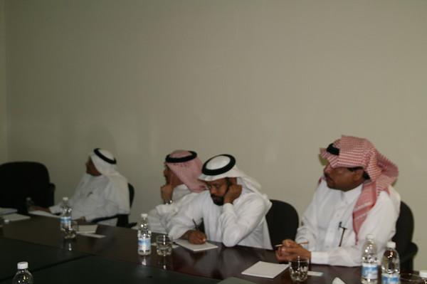 Visit - Saudi Delegates