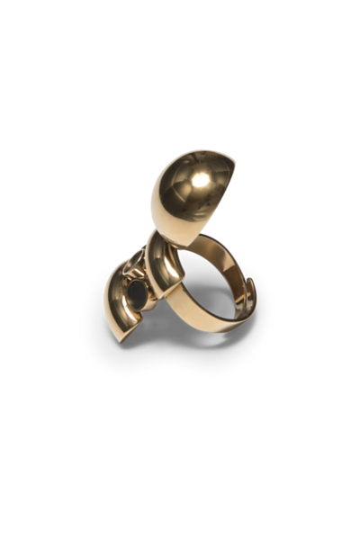 Sattelite Golden R5 Ring