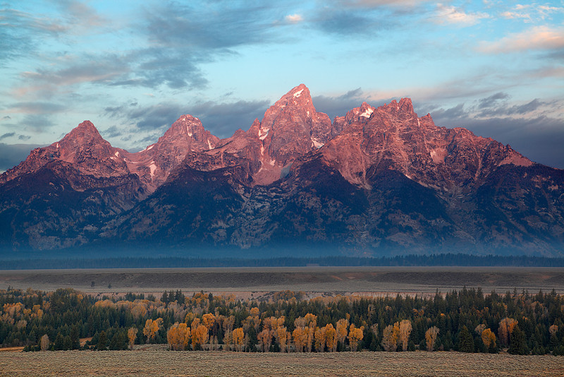 First Light - Teton Point (Grand Teton National Park)