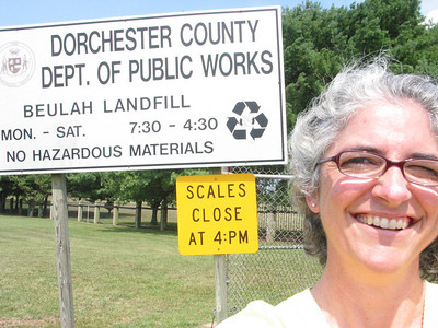 Dorchester Landfill, MD August 2008