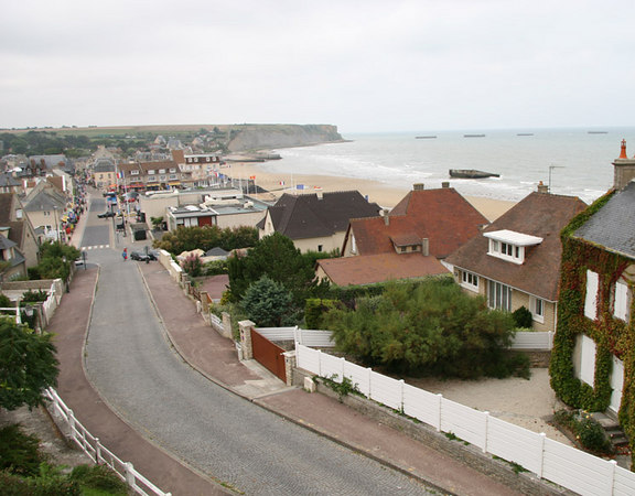 Arromanches (and the Mulberry caissons)