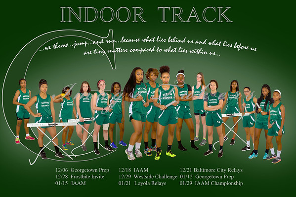 2015-2016 SK Indoor Track Athletics