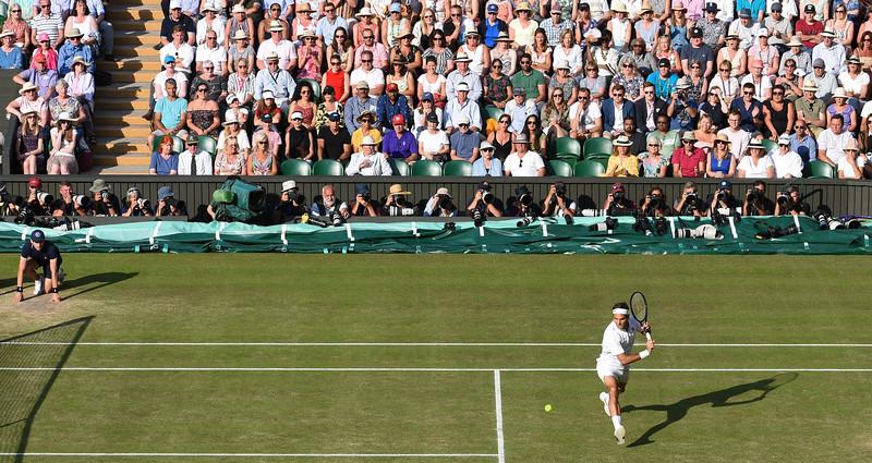 Wimbledon Mens Semi final 2019