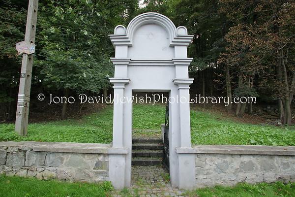 POLAND, Bedzin. Jewish Cemetery. (9.2011)