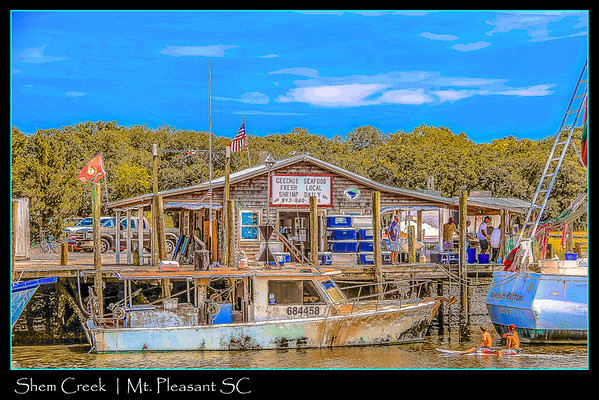GEECHIE SEAFOOD | Shem Creek | Mount Pleasant SC