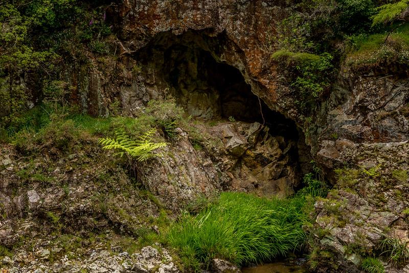 Ehemaliger Haupteingang der Crown Mine