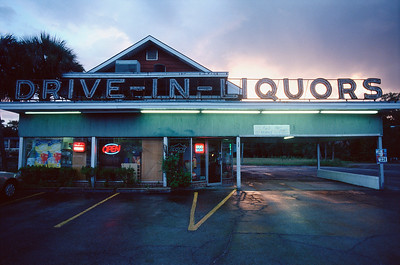 Drive-in Liquor Store in Perry, FL on US 19