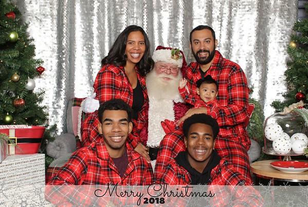 Snapshots with Santa 2018