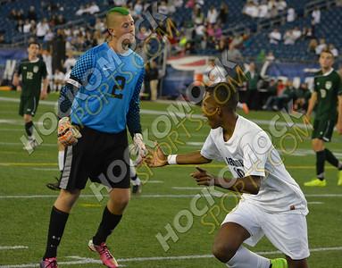 Foxboro-Mansfield Boys Soccer 09-22-14