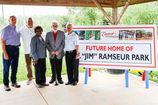 2021.7.19 - Jim Ramseur Park Naming Event