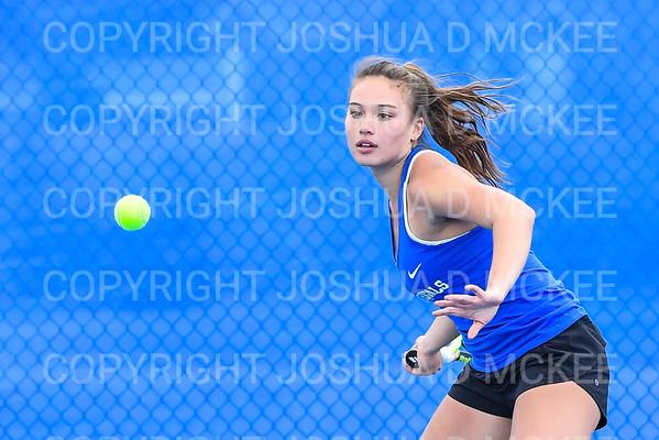 Hamilton Tennis Practice 4-9-19