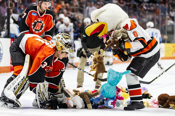 11/30/18 Komets vs. Walleye +Teddy Bear Toss