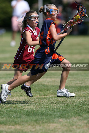 6/17/2007 - 4th Grade GIRLS - Garden City Maroon vs. Manhasset Orange