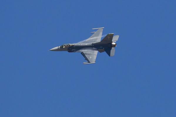 F-16C Fighting Falcon, aka Viper 158th Fighter Wing from Burlington, VT, Vermont ANG Pratice 8-20-10