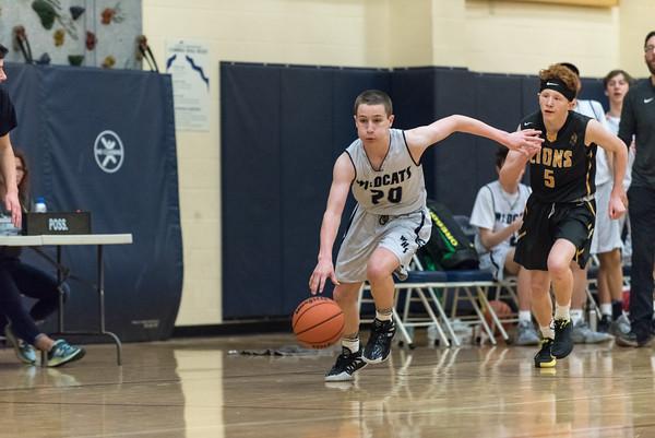 2020 Boys Freshman Basketball vs. St. Helens